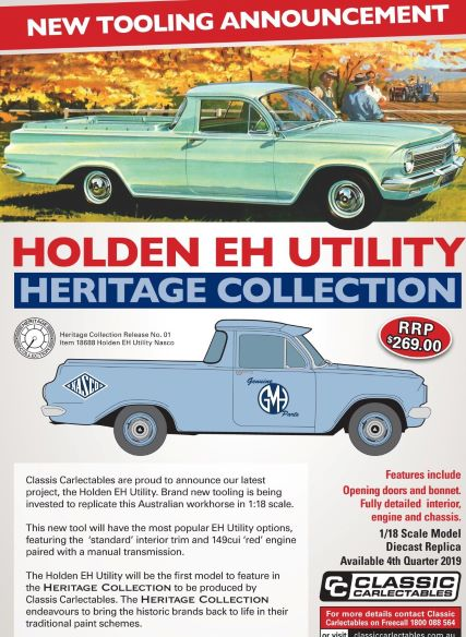 Holden EH Utility(Pre-Order)