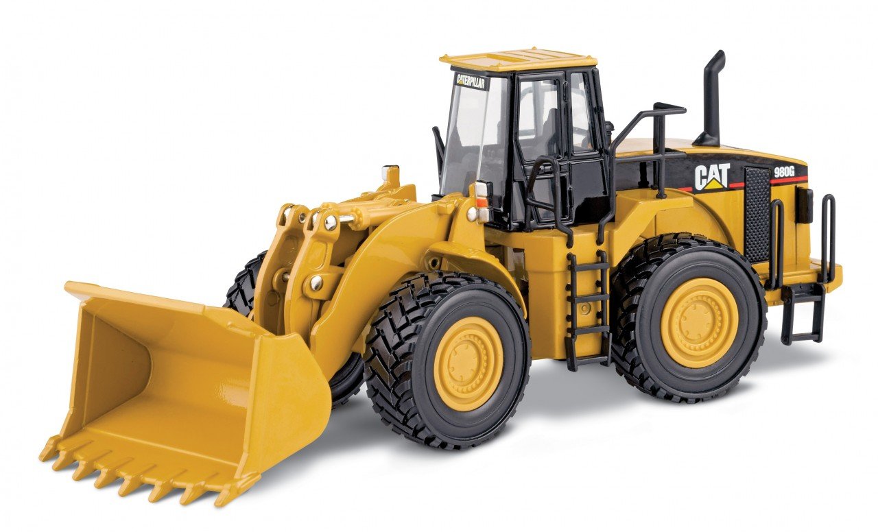 CAT 980G Wheel Loader (1:50 scale)