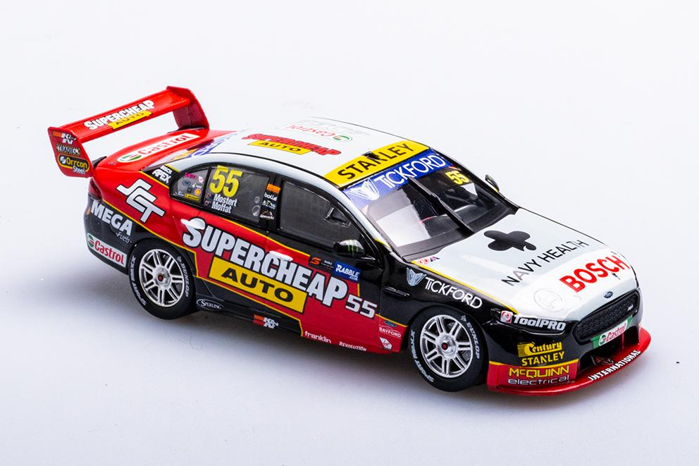 SUPERCHEAP AUTO RACING #55 CHAZ MOSTERT/JAMES MOFFAT