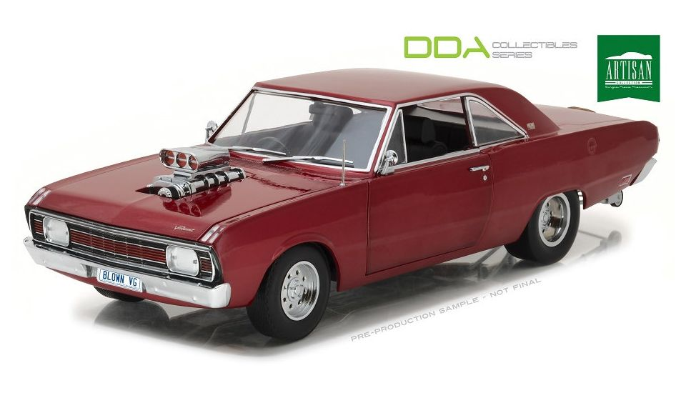 1969 Chrysler VG Valiant Drag Car with Supercharger
