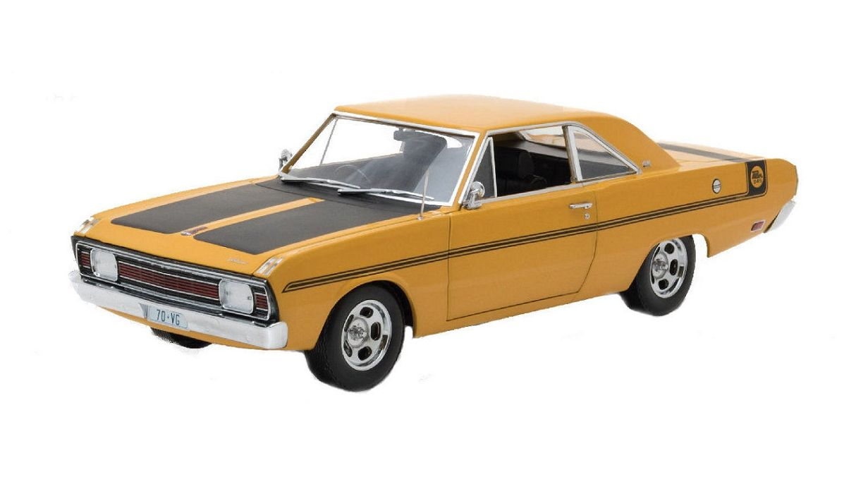 1970 Chrysler VG Valiant - Hot Mustard
