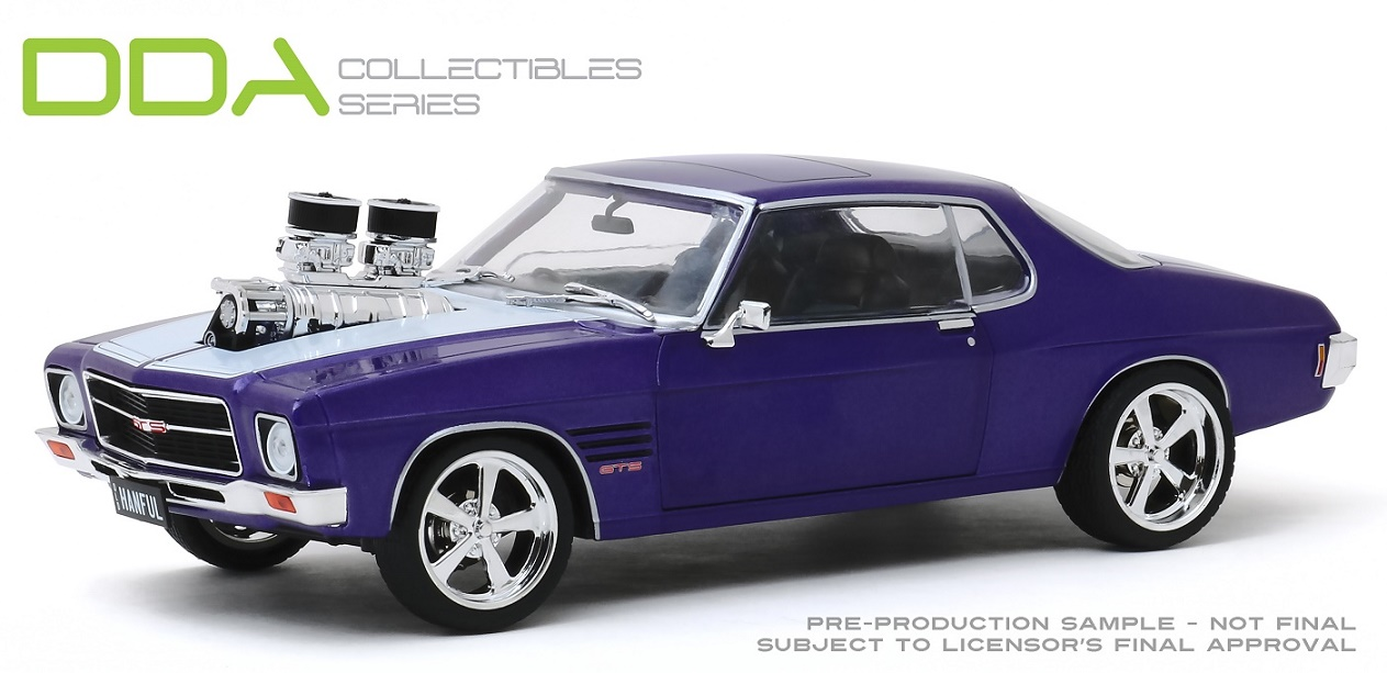 Hanful 1973 Holden Monaro HQ GTS Custom Purple(pre-order)